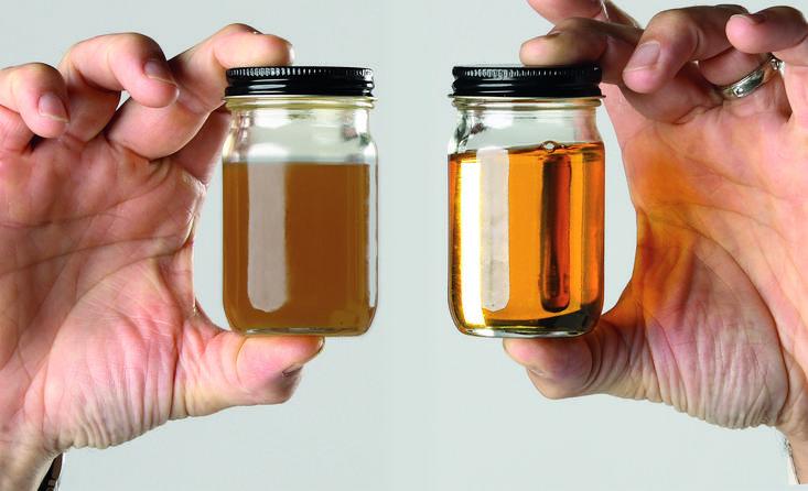 Special olie filterproces voor de horeca